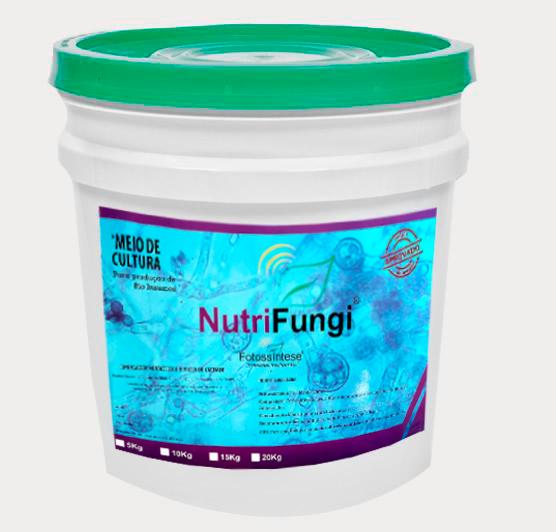 NutriFungi - Meio de cultura para produção de Fungos Submersos - Embalagem de 10kg